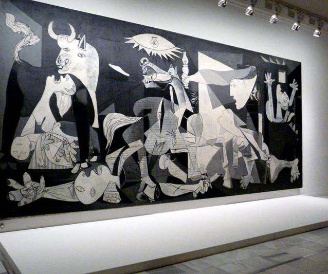 El Guernica. Museo Reina Sofia.Visitas guiadas en grupo. Madridculturetour.