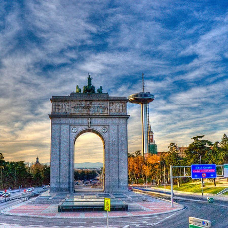 Arco de Moncloa, Madrid, Madridculturetour
