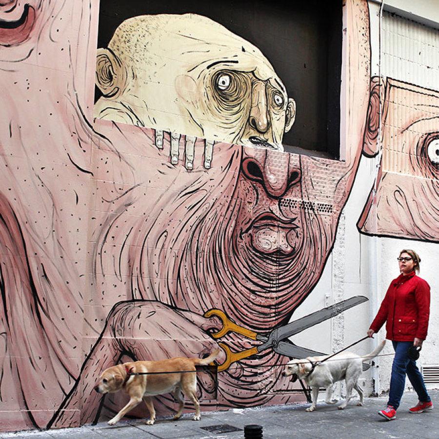 grafitti lavapies, Madridculturetour
