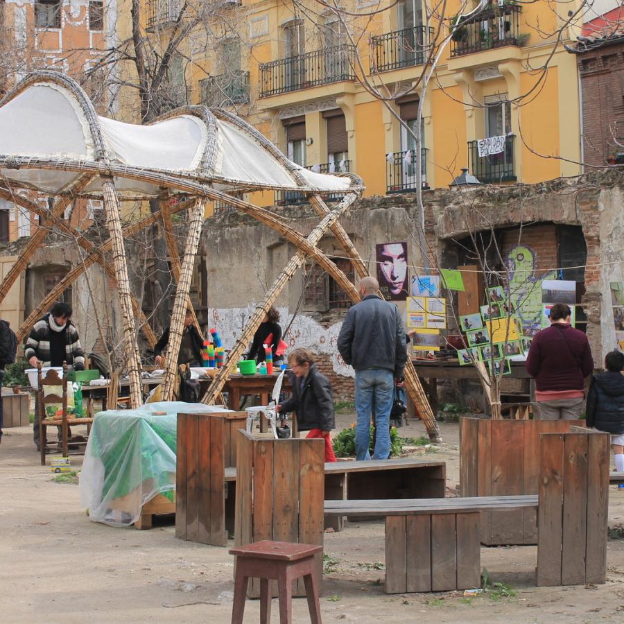 Esto no es una plaza, Madrid, Madridculturetour