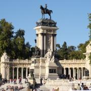 Monumento a Alfonso XII, Parque del Retiro, Madrid, Madridculturetour