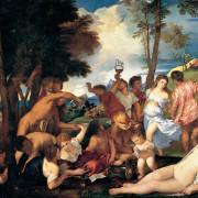 La Bacanal de Tiziano, Museo del Prado, Madrid, Madridculturetour