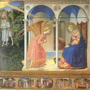 La Anunciación de Fray Angelico. Museo del Prado. Madrid, Madridculturetour.