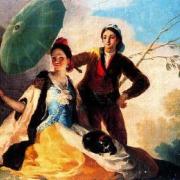 El quitasol. Museo del Prado, Madrid, Madridculturetour